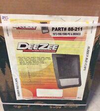 Rubber/Steel Mud Flaps Ford P/U Bronco 1973-1996  Dee Zee 88-211