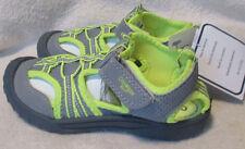 **OSHKOSH B'GOSH** Toddler Green/Gray, Textile, Strap Closure, Sandals, 12 M