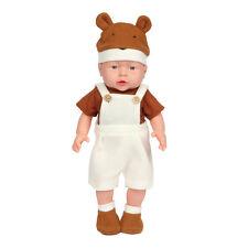 "Baby Doll Reborn Lifelike Vinyl Newborn Boy Handmade Silicone 17""Gift Realistic"
