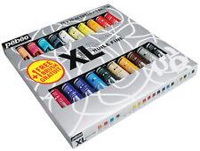 Pebeo Studio XL olio Colore Set 20 x 20ml Tubi Di Colore Incl. Dyna & 1 Spazzola Gratis