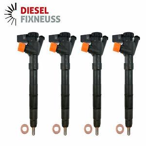 4x DELPHI Einspritzventil für Audi Seat Skoda VW 1.6 TDI 04L130277D 28370681