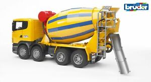 Scania R-Series Cement Mixer Truck - Bruder 03554 Scale 1:16 NEW
