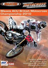 Maxxis ACU British Motocross Championship - Official review 2010 (New DVD) MX