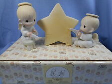 Precious Moments 3 Piece Figurine  We Saw A Star   12408    Musical