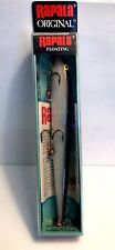 "Vintage (Finland) Rapala 5-1/4"" Silver Floating Fishing Lure #13 S"
