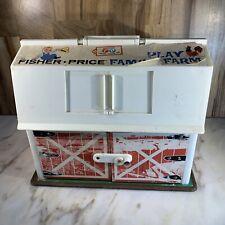 Vintage Fisher Price Farmhouse play farm toy