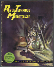 ▬►RTM Revue Technique Moto N° 50 (1952)  125 TT PUCH_MOTEUR VLT