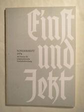 Einst und Jetzt - 1976 - Sonderheft - Robert Paschke - Corps / Studentika