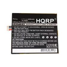 HQRP 4400mAh Battery for Amazon Kindle Fire D01400 3555A2L DR-A013 D931422P118D