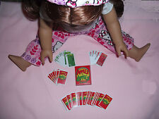 Mini Card Game Apples to Apples Fits 18 inch doll Game Can Play With Friends