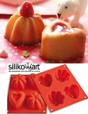 STAMPO IN SILICONE HAPPY LOVE BABYLINE di SILIKOMART CAKE DESIGN DOLCI TORTA