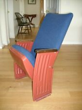 ART DECO THEATER CHAIR - Stand Alone -Hi-Back -COOL - Mfg. Irwin - 5- available