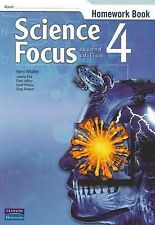 Science Focus 4: Homework Book by Kerry Whalley (Paperback, 2009)