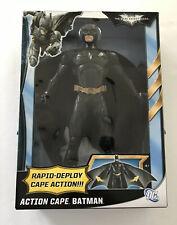 "Batman The Dark Knight Rises Action Cape Batman 14"" Brand New Sealed"