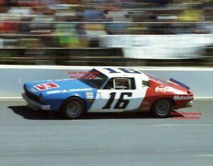 BOBBY ALLISON #16 1975 COCA-COLA AMC MATADOR NASCAR WINSTON CUP 8X10 PHOTO