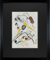 Wassily KANDINSKY Lithograph Limited Ed. Original + Archival FRAMING