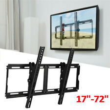 Flat Panel Tv Wall Mount Tilt Bracket Television Stand for 17-72 inch Samsung Lg