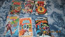 DC Comics Reader Lot of 6 Outsiderrs Comics