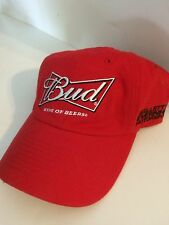 Chase Authentics Budweiser Kasey Kahne Stretch fit hat L Red 8849ae90f555