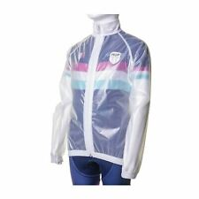 HUP Race Cape: Kids Windproof/Water Resistant Cycling Clear Jacket Junior/Youth