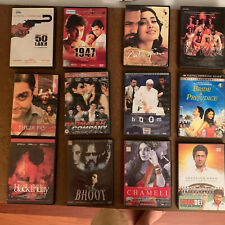 Hindi Bollywood Movie DVD's Variety - Lot of 8 Pick Your Own Choice of 8 DVDs
