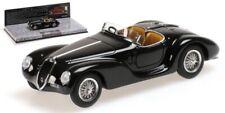 Alfa Romeo 6c Corsa Spider 1939 Black 1:43 Model MINICHAMPS