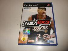 PlayStation 2 PS 2 nba 2k3