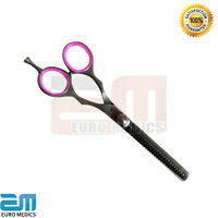 "Thinning Professional Hairdressing Scissors 6"" BLACK (PINK) Hair Cutting Salon"