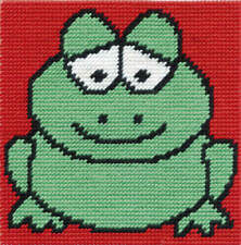 DMC Tapestry Kit - Groovy Frog