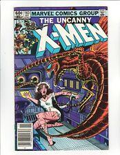 The Uncanny X-Men Vol 1 #163 (Marvel, 1982) 6.0