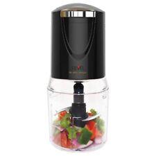 REVEL NUTRI FOOD CHOPPER 0.5 LITRE 400 WATT BLACK (MODEL NO. FC601BK)
