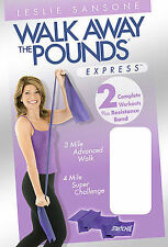 Leslie Sansone - Walk Away the Pounds Express (DVD, 2007) Physical Fitness