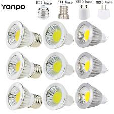 MR16/GU10/E27/E14 Dimmable 6W 9W 12W LED COB SpotLight Bulb Lamp Ultra Bright SS