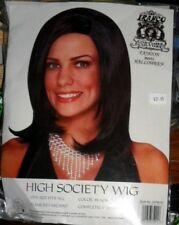 NIP Black High Society Costume Wig Franco Halloween Theatrical NEW Free Ship