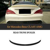 für Mercedes Benz CLA45 AMG Spoiler W117 Heckspoiler Tuning Hecklippe SCHWARZ