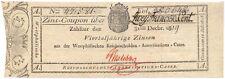 Westphalen Reino de 2,50 francos 1819 Westphalia rar