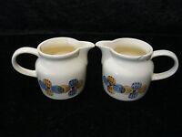 2 x alter DDR Milchkrug - Keramik / Steingut - Colditz - um 1950/60 - 0,3 l