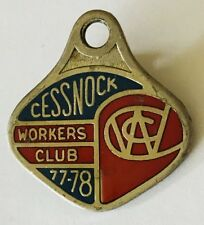 Cessnock Workers Club 1978 Members Badge Vintage (K5)