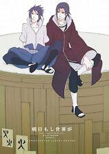 NARUTO Shounen-Ai Doujinshi ( Itachi x Sasuke ) Ashita moshi Sekai ga