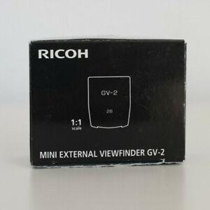 Viewfinder Ricoh GR GV-2 für GR Digital III, GR Digital II und GR Digital