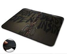 Dont Open Dead Inside The Walking Dead Premium Quality Mouse Mat / Mouse Pad