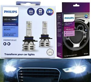 Philips Ultinon LED G2 Canceller 9012 Two Bulbs Head Light Dual Beam Upgrade