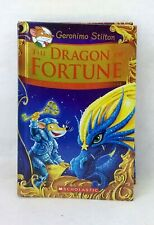 The Dragon of Fortune Geronimo Stilton deluxe illustrated hardcover like new con