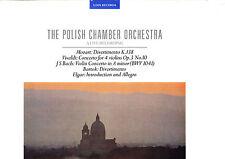 AUDIOPHILE LINN RECORDS - POLISH CHAMBER ORCHESTRA MOZART VIVALDI BACH 2LP MINT