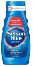 McK Selsun Blue Dandruff Shampoo Squeeze Bottle 11 oz