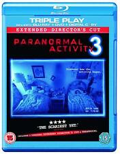 Paranormal Activity 3 (Blu-ray & DVD Combo, 2012, 2-Disc Set)(Brand New, Sealed)