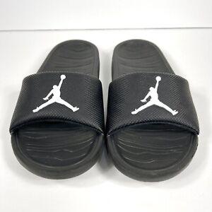 Nike Jordan Break Slide Youth Size 6y Sandals Slip-On CD5472-001 Black/White