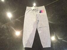 NWT Juicy Couture New & Gen. Girls Age 10 Grey Cotton Crop Leg Pants & Logo