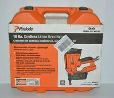 Paslode IM200LI2 Cordless 18-Gauge Li-Ion Brad Nailer Kit w/ Battery And Charger