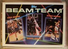 1993 Michael Jordan/Kevin Johnson/Dennis Rodman Topps Beam Team
